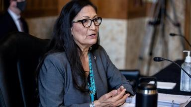 Debra Haaland becomes first Native American Cabinet member