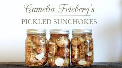 Camelia's Lacto-Fermented Pickled Sunchokes