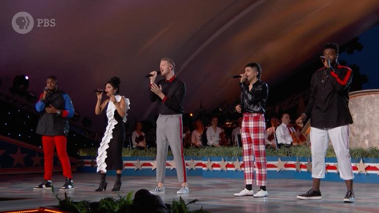 A Capitol Fourth: Pentatonix Debuts a New Medley on the 2018 A Capitol Fourth