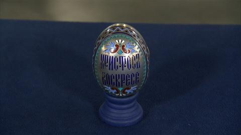 Antiques Roadshow -- S21 Ep12: Appraisal: Khlebnikov Russian Champleve Enamel Egg