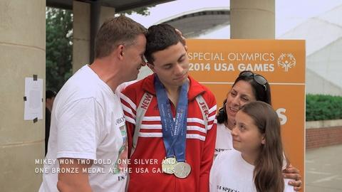 POV -- Swim Team: Special Olympics - Experiencing Success