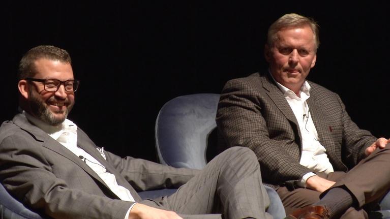 NC Bookwatch: An Evening with John Hart & John Grisham