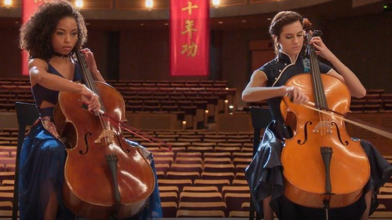 "Flicks: Allison Williams & Logan Browning for ""The Perfection"""