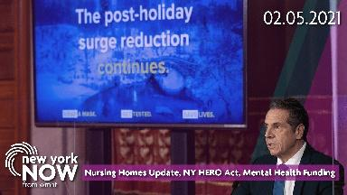 Nursing Homes Update, NY HERO Act, Mental Health Funding