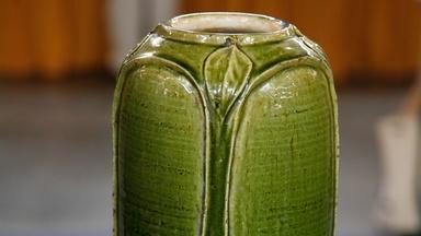 Appraisal: Grueby Pottery Vase, ca. 1897