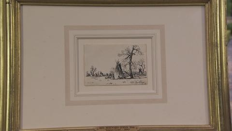 Antiques Roadshow -- Appraisal: 1893 Maynard Dixon Pen & Ink Christmas Card