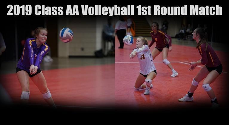 High School Activities: 2019 Class AA SDHSAA Volleyball | Watertown vs Harrisburg