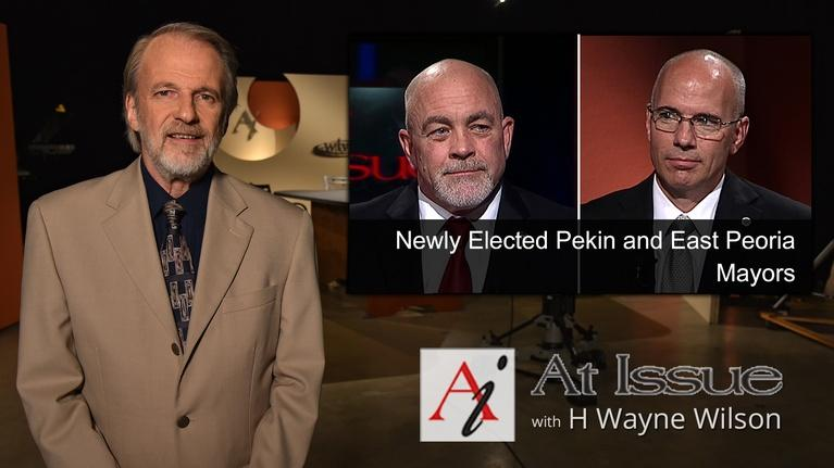 At Issue: S31 E41: Newly Elected Pekin and East Peoria Mayors