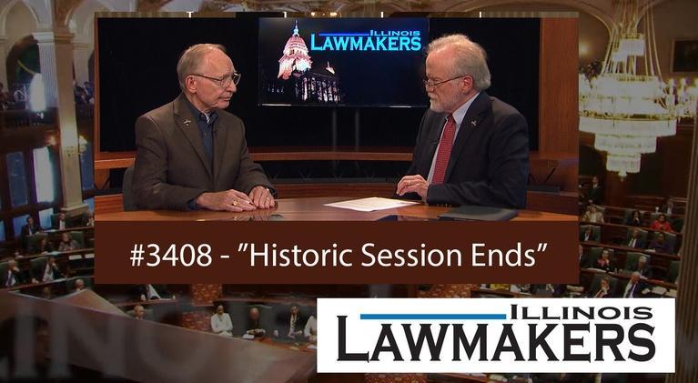 Illinois Lawmakers: S43 E08: Historic Session Ends