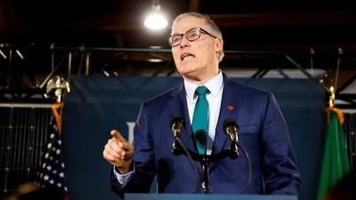 Gov. Jay Inslee on clean energy, tax policy and reparations