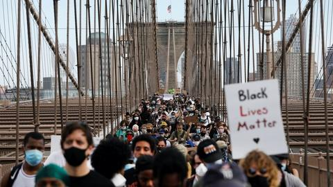 New York protesters say they want change from 'daily fear'