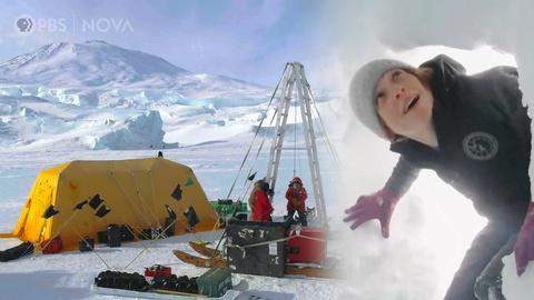 Antarctic Extremes -- Exploring Antarctica's Threatened Glaciers (with a Robot)