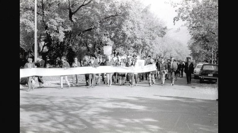 Vietnam To Montana: Memories Of War: Protestors