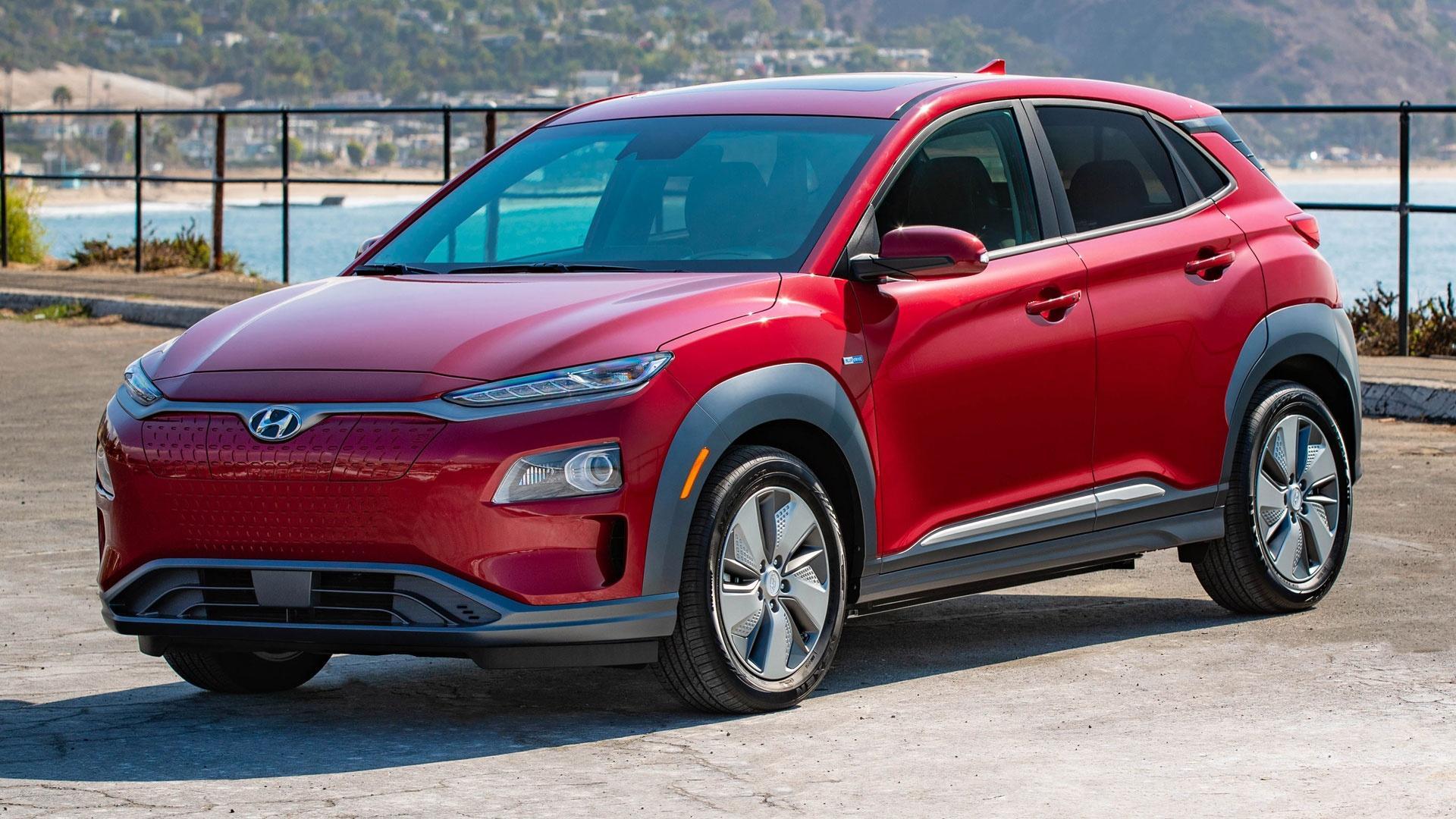 2019 Hyundai Kona Electric & 2019 Honda Passport