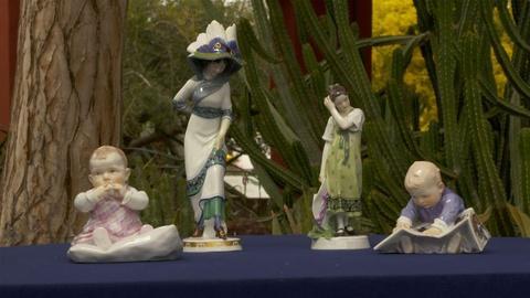 Antiques Roadshow -- Appraisal: Meissen Figurines, ca. 1915