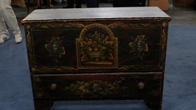 Appraisal: Painted Blanket Chest, ca. 1850