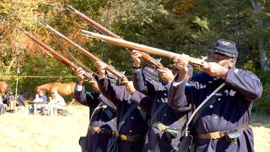 Web Extra: Meet the 54th Regiment Reenactors