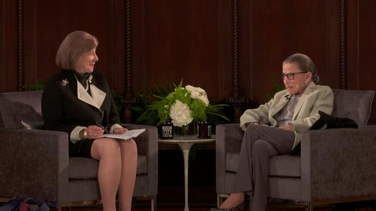 WLIW21 Specials: Justice Ruth Bader Ginsburg In Conversation
