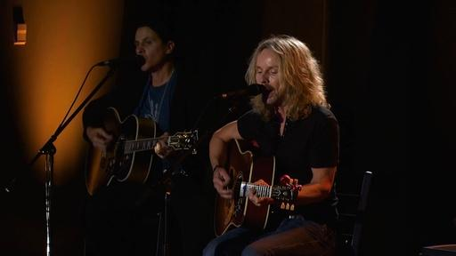 Garth Brooks and Tommy Shaw
