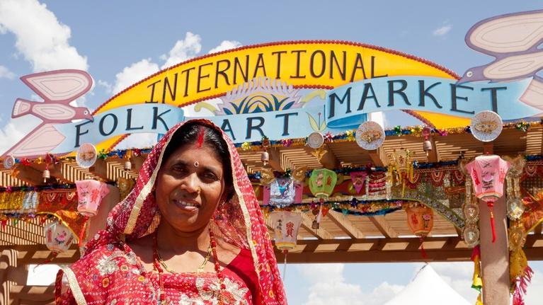 Report From Santa Fe, Produced by KENW: International Folk Art Market