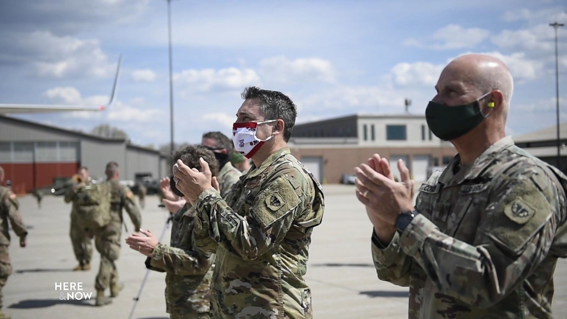 Red Arrow Brigade Troops Return from Afghanistan