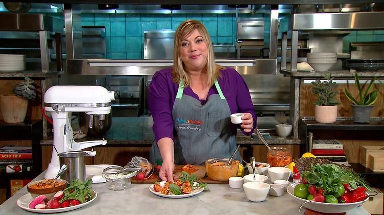 Dishalicious: Sarah's Bite | Radish with kimchi butter