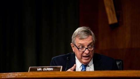 PBS NewsHour -- Durbin: Why is Senate GOP putting SCOTUS ahead of virus aid?