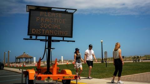 U.S. observes a muted Memorial Day amid pandemic