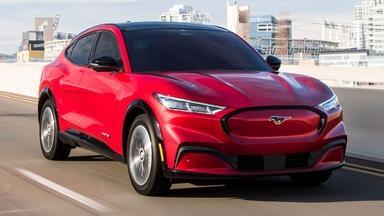 2021 Ford Mustang Mach-E & 2021 Polestar 2