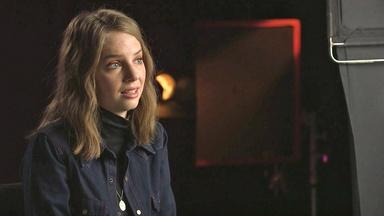 Maya Hawke on Jo March