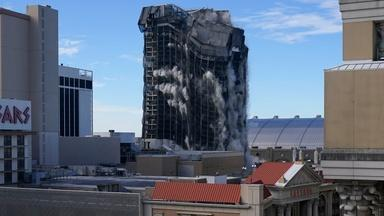 Implosion of Trump Plaza casino takes place in Atlantic City