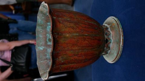 S24 E16: Appraisal: Dirk van Erp Copper Vase, ca. 1930