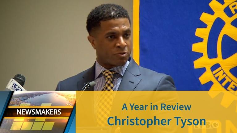 Newsmakers: A Year In Review Christopher J. Tyson