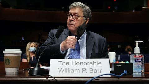 Barr insists he's exercising 'independent judgment' as AG