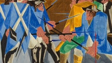 Unraveling the mystery of a pioneering painter's work