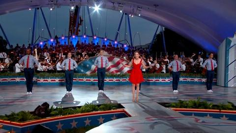 A Capitol Fourth -- S2017: Laura Osnes Performs A Patriotic Medley