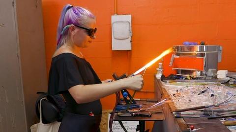 WEDU Arts Plus -- 908: Zen Glass Studio
