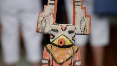 Appraisal: Mid-20th C. Wilson Tawaquaptewa Kachina Doll