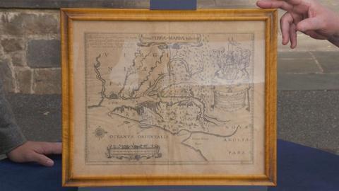 Antiques Roadshow -- Appraisal: 1671 John Ogilby Maryland Colony Map