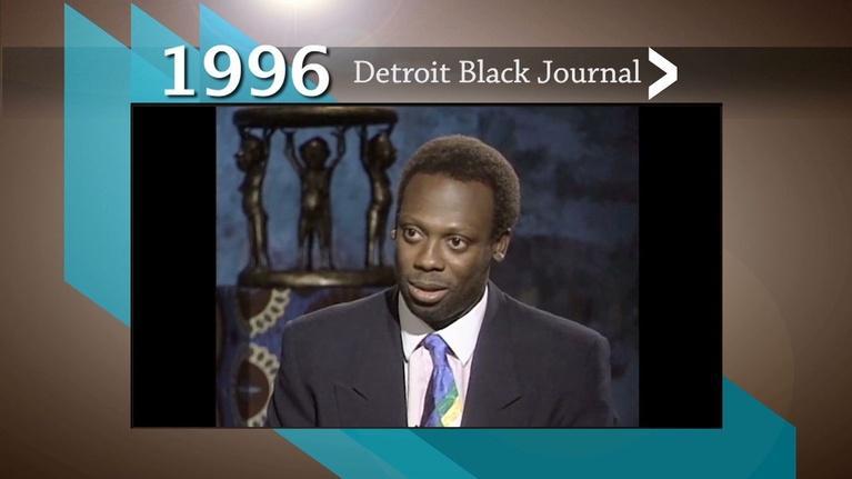 American Black Journal: 1996 Detroit Black Journal Clip: Dr. Leslie B. Dunner