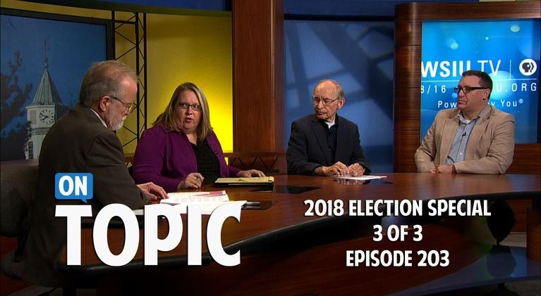 WSIU OnTopic: 2018 Election Special 203