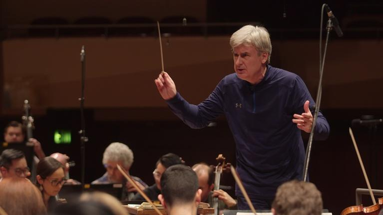 Arts: Maestro Thomas Dausgaard Rehearses with the Seattle Symphony