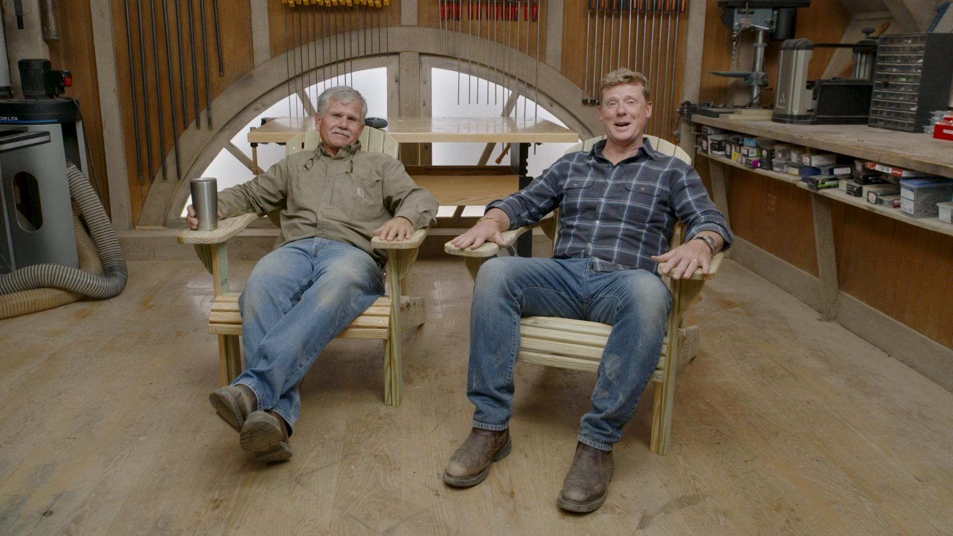E11 | Garden Upgrade, Adirondack Chair | Ask This Old House