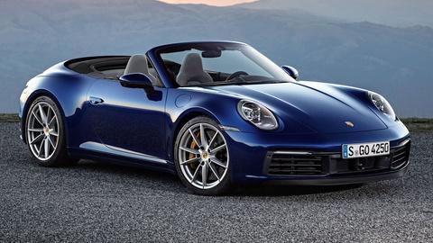 2020 Porsche 911 Carrera 4S Cabriolet & 2020 Toyota Camry