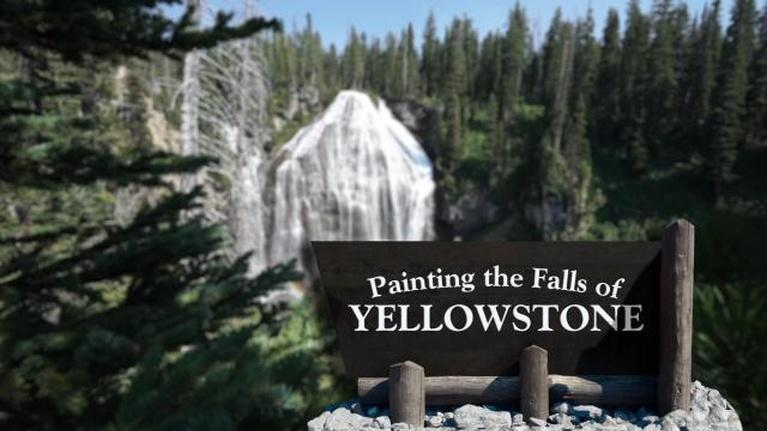 Wyoming PBS Documentaries: Painting the Falls of Yellowstone