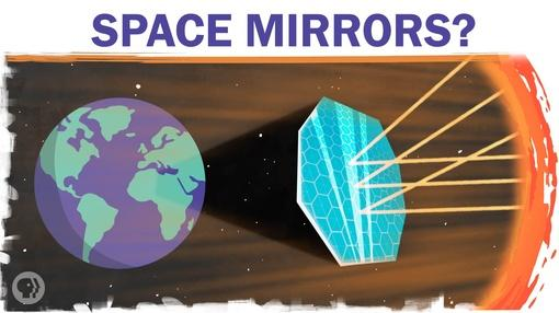 Hot Mess : Could Space Mirrors Cool The Globe?