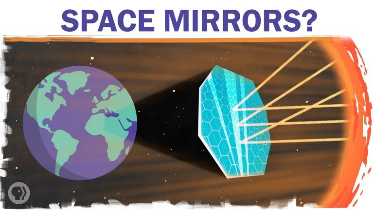 Hot Mess: Could Space Mirrors Cool The Globe?