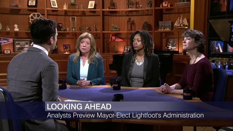 Chicago Tonight: Looking Ahead: Analysts Preview Lightfoot Administration