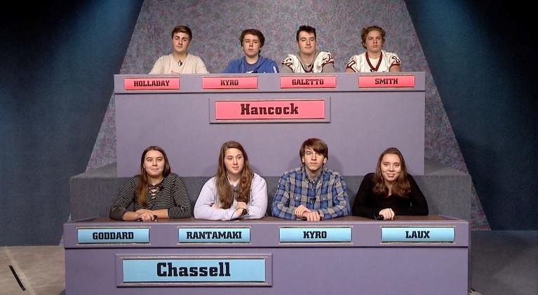 High School Bowl: 4203: Hancock vs Chassell