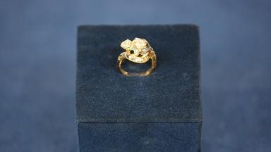 Appraisal: Renaissance-revival Poison Ring, ca. 1875